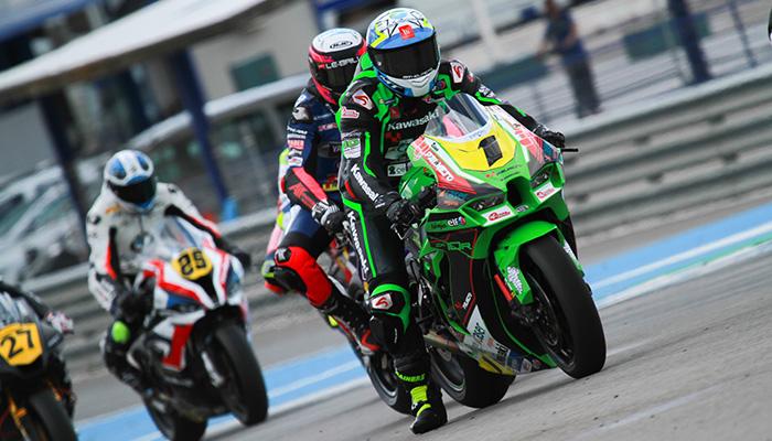 El Kawasaki Palmeto PL Racing Team arranca el ESBK 2021 en el Circuito de Jerez