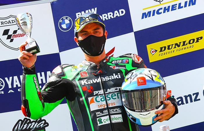 Doble podio para Ramos y el Kawasaki Palmeto PL Racing Team en Barcelona