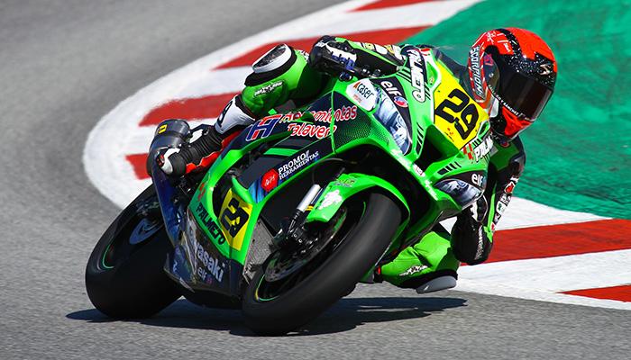 El Kawasaki Palmeto PL Racing pone rumbo a Navarra