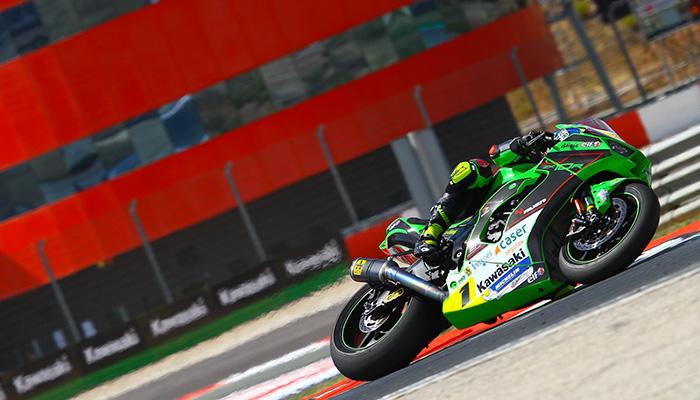 Fin de semana constructivo para el Kawasaki Palmeto PL Racing Team en Navarra